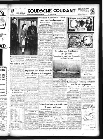 Goudsche Courant 1956-04-17