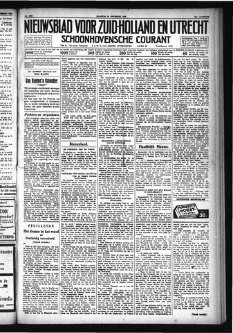 Schoonhovensche Courant 1929-11-25