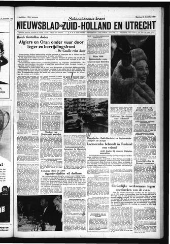 Schoonhovensche Courant 1960-12-12