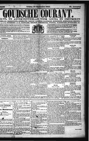 Goudsche Courant 1922-09-22