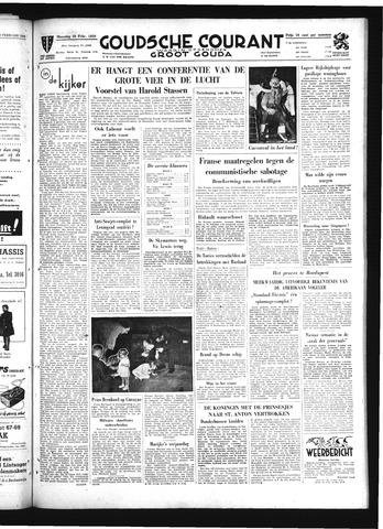 Goudsche Courant 1950-02-20