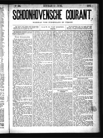 Schoonhovensche Courant 1876-06-11
