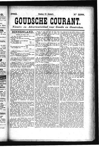 Goudsche Courant 1885-01-25