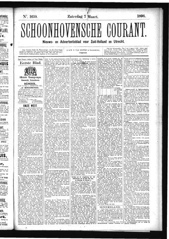 Schoonhovensche Courant 1896-03-07