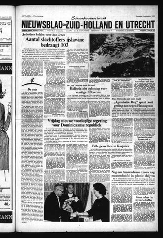 Schoonhovensche Courant 1965-09-01