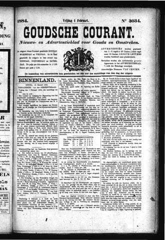 Goudsche Courant 1884-02-01