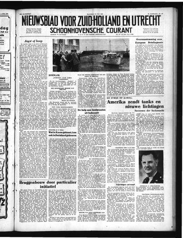 Schoonhovensche Courant 1950-07-10