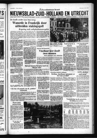 Schoonhovensche Courant 1968-05-20
