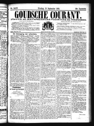 Goudsche Courant 1920-09-28