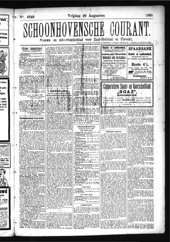 Schoonhovensche Courant 1920-08-20