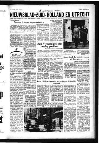 Schoonhovensche Courant 1967-09-01