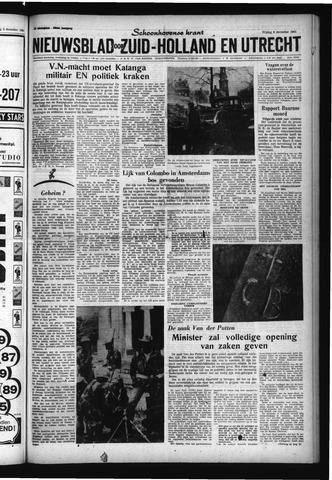 Schoonhovensche Courant 1961-12-08
