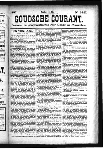 Goudsche Courant 1887-05-15