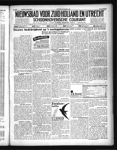 Schoonhovensche Courant 1935-10-16