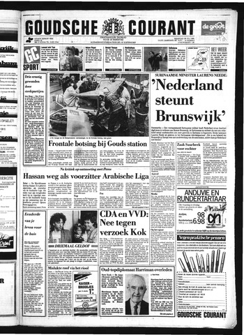 Goudsche Courant 1986-07-28