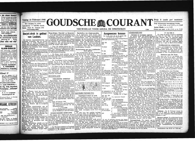 Goudsche Courant 1945-02-23