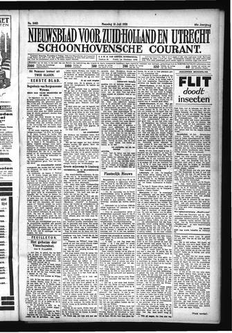 Schoonhovensche Courant 1928-07-16