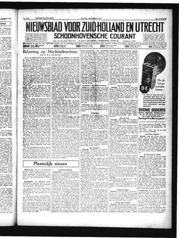 Schoonhovensche Courant 1934-11-02