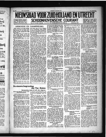 Schoonhovensche Courant 1941-01-10