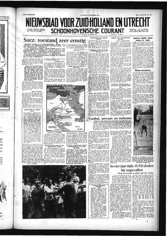 Schoonhovensche Courant 1956-09-10