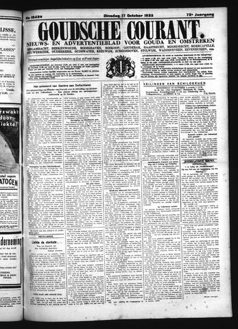 Goudsche Courant 1933-10-17