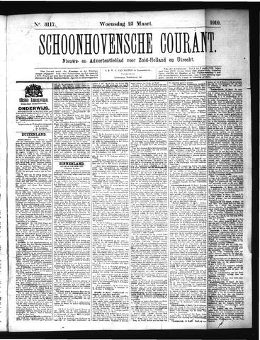Schoonhovensche Courant 1910-03-23