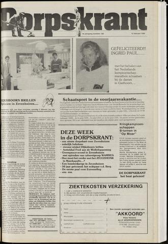 Dorpskrant 1986-02-12