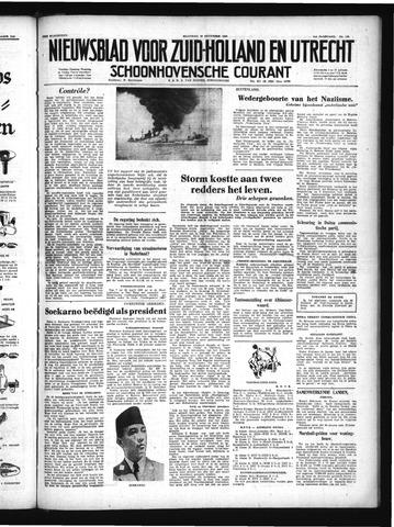 Schoonhovensche Courant 1949-12-19