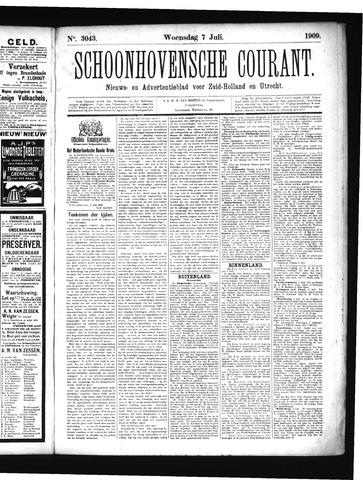 Schoonhovensche Courant 1909-07-07