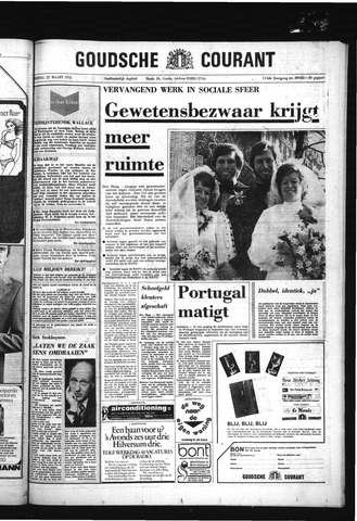 Goudsche Courant 1975-03-22