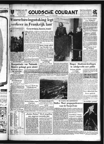 Goudsche Courant 1958-04-02