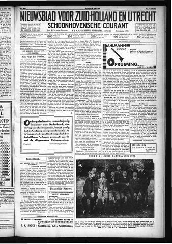Schoonhovensche Courant 1931-06-05