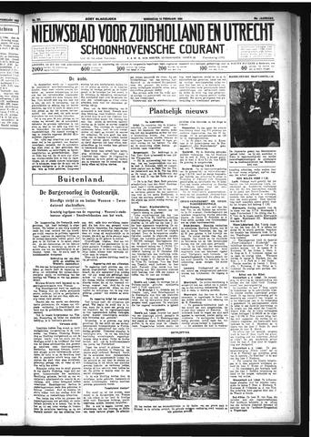 Schoonhovensche Courant 1934-02-14