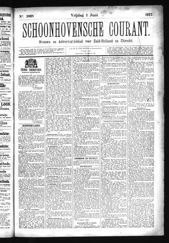 Schoonhovensche Courant 1917-06-01