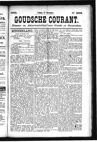 Goudsche Courant 1885-11-27