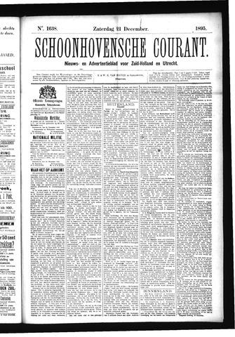 Schoonhovensche Courant 1895-12-21