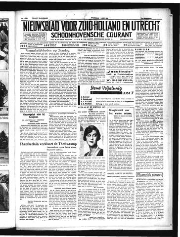 Schoonhovensche Courant 1939-06-07
