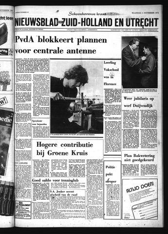 Schoonhovensche Courant 1974-11-04
