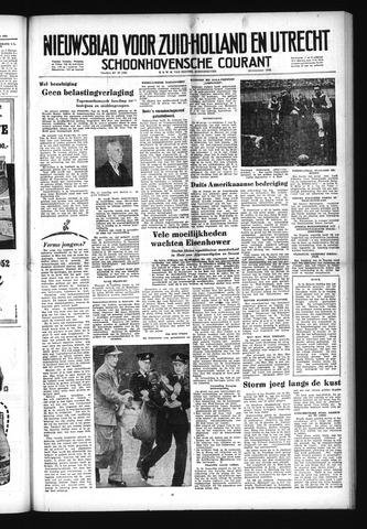 Schoonhovensche Courant 1952-11-07