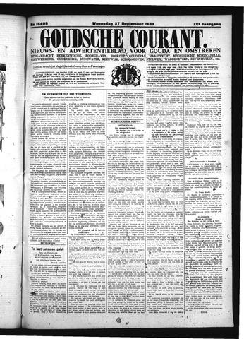 Goudsche Courant 1933-09-27