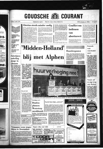 Goudsche Courant 1976-04-09