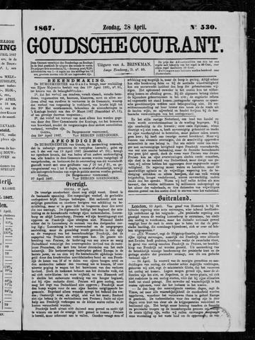 Goudsche Courant 1867-04-28