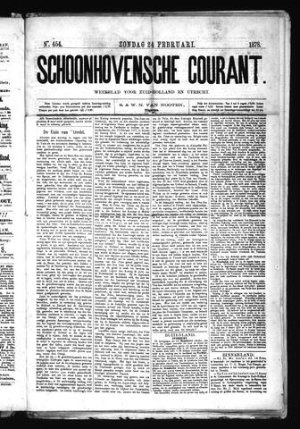 Schoonhovensche Courant 1878-02-24