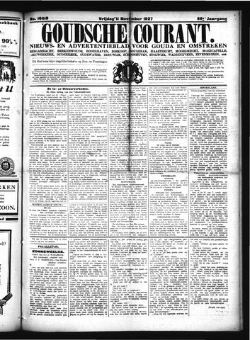 Goudsche Courant 1927-11-11