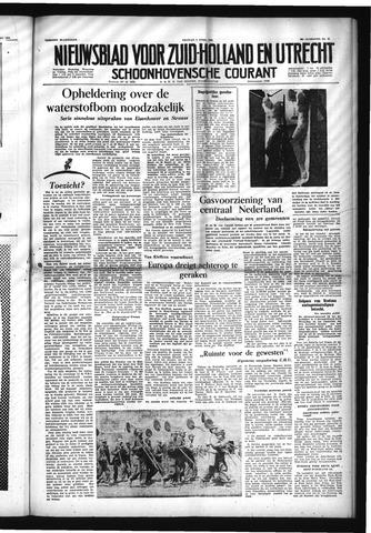 Schoonhovensche Courant 1954-04-09