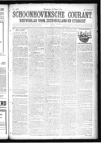Schoonhovensche Courant 1926-03-24