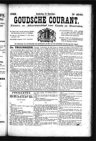 Goudsche Courant 1892-09-22