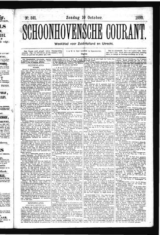Schoonhovensche Courant 1880-10-10