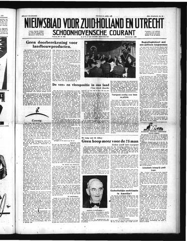 Schoonhovensche Courant 1951-04-20