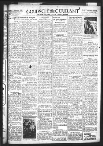 Goudsche Courant 1944-08-08